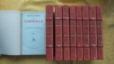 CORNEILLE : THEÂTRE COMPLET EN 9 VOL. -1945- ORNE DE  PORTRAITS ET DOCUMENTS ANC