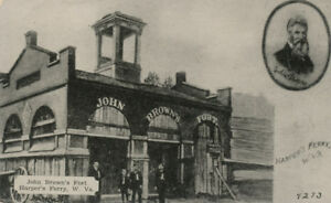 Harpers Ferry WV * John Brown's Fort * Walter Dittmeyer Publisher  #4273