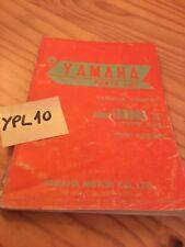 Yamaha parts list Chappy 80 LB80IIA type 592  catalogue pièce détachée 1975