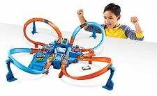 Hot Wheels Criss Cross Crash Track Set Ages 5+ New Toy Car Race Boys Girls