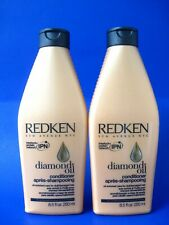 REDKEN DIAMOND OIL CONDITIONER 8.5 OZ Lot of 2 bottles