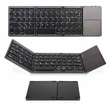 Teclado Bluetooth 3.0 Tri-Fold Reino Unido Layout & con Touchpad para Amazon Fire Tablet
