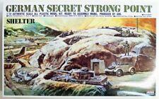 Arii 1/72 German Secret Strong Point (Shelter) Plastic Model