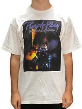 More details for prince purple rain album front cover sq unisex official t-shirt brand new