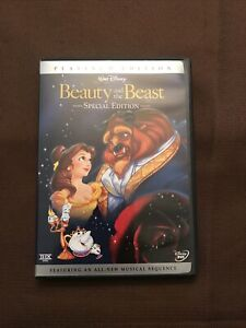 Beauty and the Beast DVD 2002 2-Disc Set Special Edition Children Disney Family