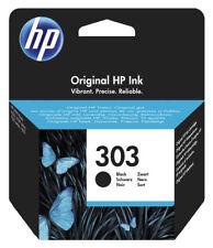 Original HP 303 schwarz Tinte Patrone Envy Photo 6220 6230 6255 7134 7155 7855