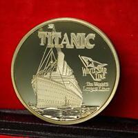 Shipwreck Metal Gedenkmünze Goldene Andenken HOT