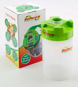 Batrecycle Smart Battery Disposal Bin with built in tester