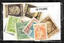 Fiume 10 sellos diferentes