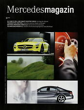 Mercedes Magazin 3 2010 CLS SLS AMG E-Cell E-Klasse Cabrio Jiang Huan Pangaea