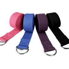 Jp_ Yoga Stretch Strap Training Belt Waist Leg Fitness Girl Exercise Gym Tool