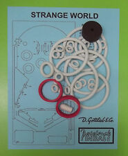 1978 Gottlieb Strange World pinball rubber ring kit