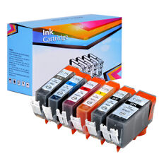 6 PK INK PGI-225 CLI-226 XL NON-OEM FOR CANON PIXMA MG6120 MG6220 MG8220 GY GREY