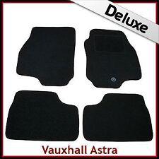 VAUXHALL ASTRA G 1998-2004 Tailored LUXURY 1300g Carpet Mats BLACK