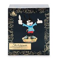 MICKEY MOUSE Memories Through Years BRAVE LITTLE TAILOR Sketchbook Ornament Set