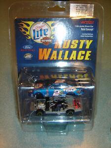 Rusty Wallace #2 Miller Lite/Harley-Davidson 2000 NASCAR Diecast  Action 1/64