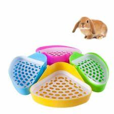 Pet Small Animals Corner Litter Tray Training Pets Rabbit Pee Toilet Supplies