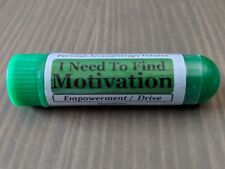 I NEED MOTIVATION Essential Oil Personal AROMATHERAPY Inhaler: Empowerment Blend