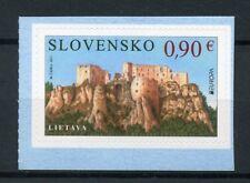 Slovakia 2017 MNH Castles Europa Lietava 1v S/A Set Architecture Tourism Stamps