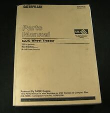 Caterpillar 623G Wheel Tractor Parts Manual Book Catalog CAT S/N CES1-Up