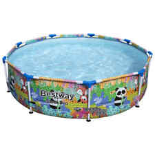 Bestway Steel Pro MAX Swimming Pool 427x107cm Schwimmbecken Schwimmbad Garten