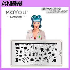 MOYOU Artist 23 Stamping Schablone Trendy Stempelplatte versch. Designs