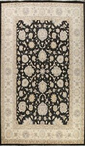 Vegetable Dye Oushak-Chobi All-Over Oriental Hand-knotted Large Area Rug 10'x14'