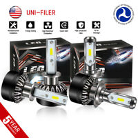 H1 H7 Combo LED Headlight Bulbs for Mercedes-Benz B200 C230 C240 C250 C280 C300