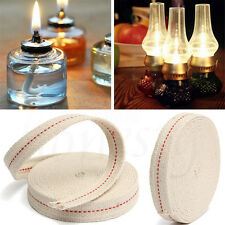 50cm Flat Cotton Oil Lamp Lantern Wick 1cm For Kerosene Burner Lighting Pratical