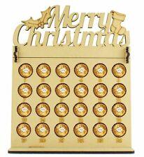 Ferrero Rocher & Lindt Chocolate Balls Advent Calendar with Merry Christmas