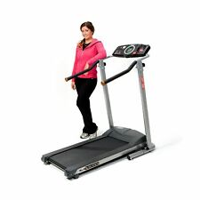 Exerpeutic TF900 High Capacity Fitness Walking Electric Treadmill Gray Walking