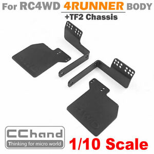 CC HAND Rubber Mud Flap for RC4WD 4RUNNER Body + TF2 Chassis