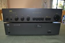 NAD 2150 Power Amplifier with NAD 1020 pre amp. Vintage Nad quality