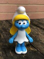 Burger King Smurfs - The Lost Village # 1 SMURFETTE Doll Figure EUC