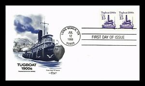 US COVER TUGBOAT TRANSPORTATION SERIES FDC ARTMASTER CACHET