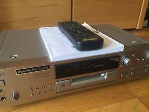 Sony MDS-JB920 Mini Disc Recorder Player mit Fernbedienung + Bedienungsanleitung