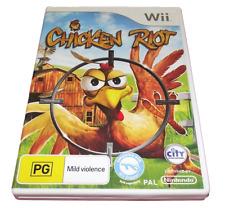 Chicken Riot Nintendo Wii PAL *Complete* Wii U Compatible