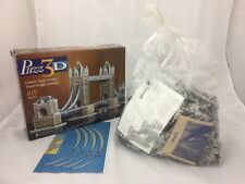 Puzz 3D London Tower Bridge 819 Piece Puzzle MB, Contents Unused & Still Sealed