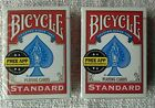 2 x Packs Bicycle Standard Playing Cards Brand New & Sealed Made In The USA