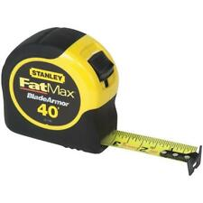 "(6)-Stanley SAE FatMax 40' X 1-1/4"" Wide Blade Tape Measure 33-740L"