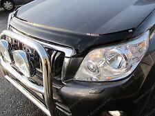 Toyota Landcruiser 150 2010-2014 Bonnet Bug Guard Protector (Dark Smoke)