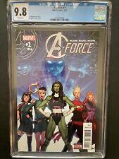 A-Force vol.2 #1 2016 CGC 9.8 Molina Art Low Pop 10 Marvel Comic Book GR1-14