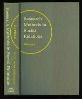Research Methods IN Social Relaciones, Revised One-Volume Edición