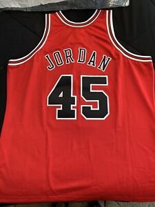 Michael Jordan Jersey Chicago Bulls #45 Mitchell And Ness New W/Tags Retail $300