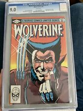 Wolverine #1 Limited Series  CGC 9.0 Frank Miller