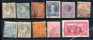 Monaco useful collection x 11 values Cat Val £220+ WS11933