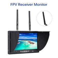 FPV Monitor 7inch 5.8G 40CH Dual Diversity Receiver OSD For DJI RC Drone