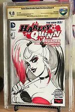 HARLEY QUINN INVADES COMIC-CON INTERNATIONAL #1 CBCS SS 9.8 BABS TARR SKETCH