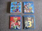 Toy Story 3D Trilogy (3-Disc 3D Blu-ray Set, 2011) Like New w/ Slipcase!