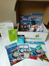 Thomas the Tank Engine Party Supplies Party in a Box. Banners Party Bags Cups